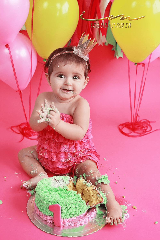 Sessão 1º Aniversário / Smash The Cake de Menina