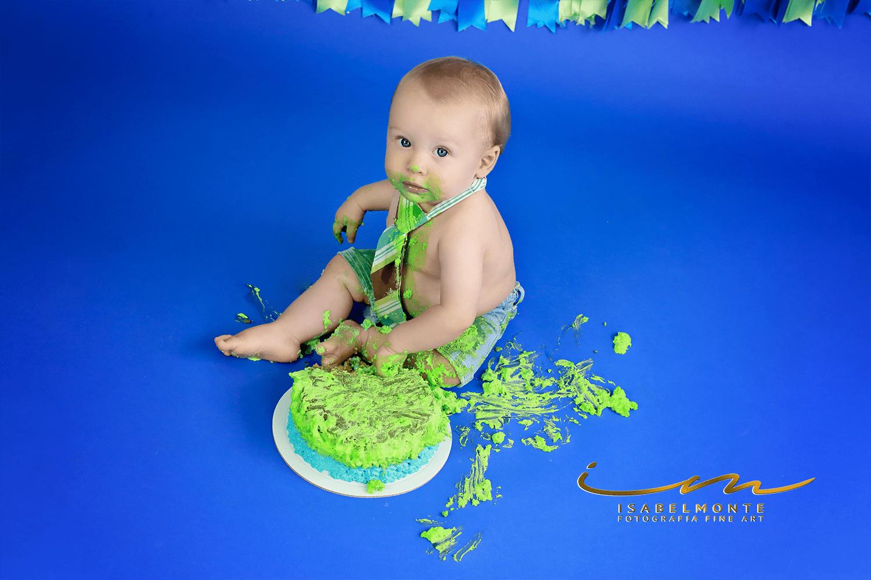 Sessão 1º Aniversário / Smash The Cake de Menino